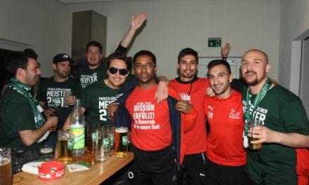 Impressionen: TuS L.A. und TuS Neuenrade feiern gemeinsam ihre Meisterschaften