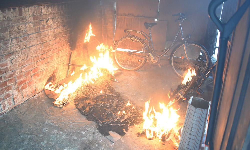 Garbecker Straße: Fotogalerie vom Einsatz der Feuerwehr