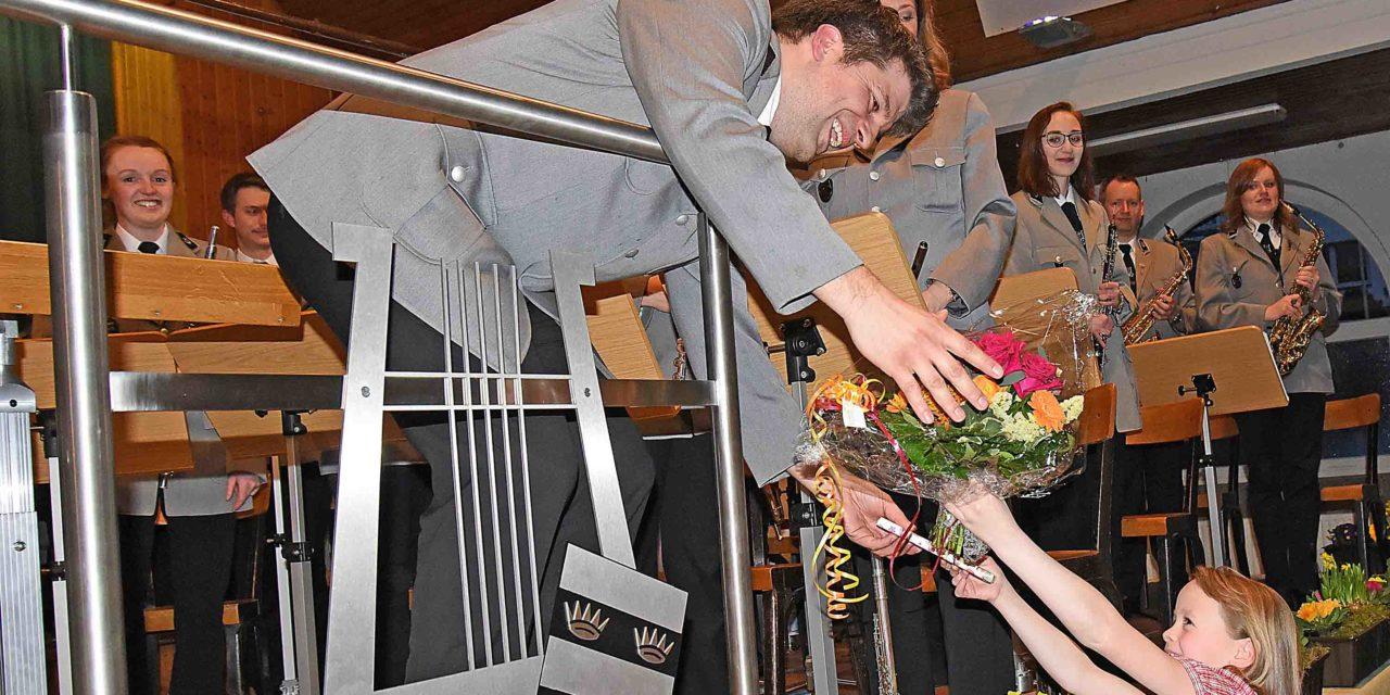 Musikverein Amicitia Garbeck spielt begeisterndes Wunschkonzert