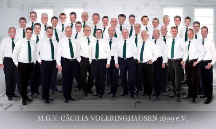 150 Männerstimmen erschallen in Volkringhausen