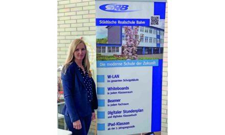 Digitalisierung: Leuchtturm Realschule Balve