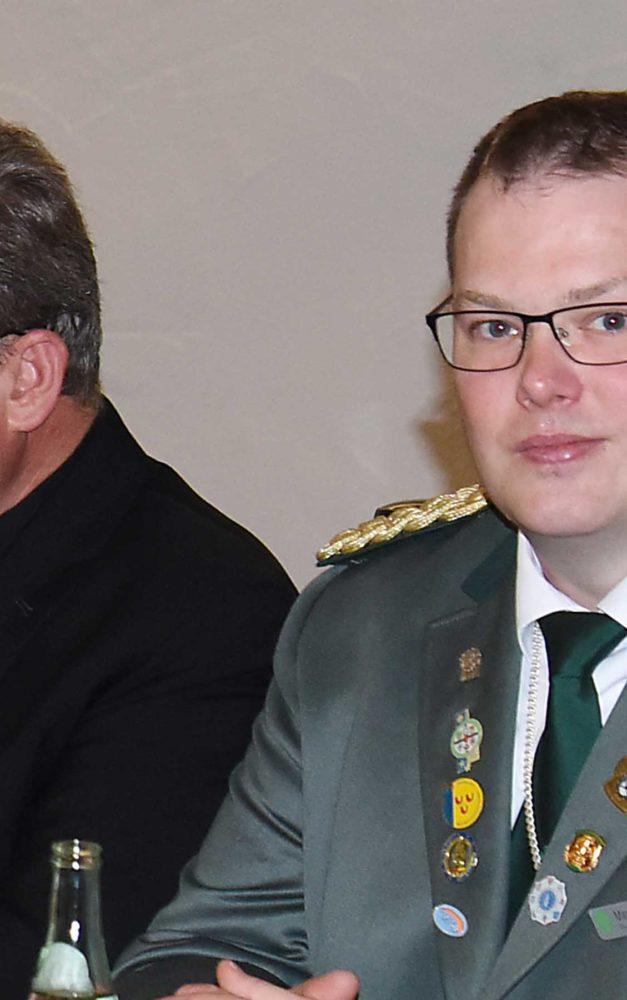 Marc Schmoll-Stübecke musste schweren Herzens seinen Schützenhut nehmen