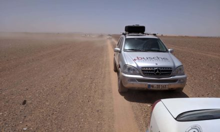 Morgen Minen auf Afrika-Rallye: Auf Döring und Anhalt wartet die gefährlichste Etappe
