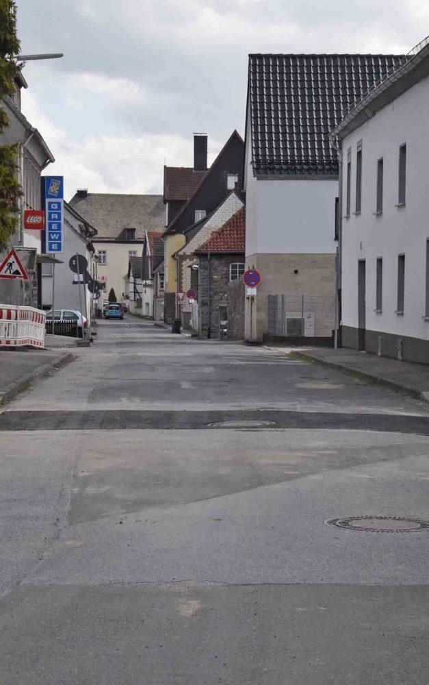 Keine Blockade mehr auf der Garbecker Straße