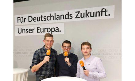 JU Balve ruft die jungen Leute zur Europawahl auf