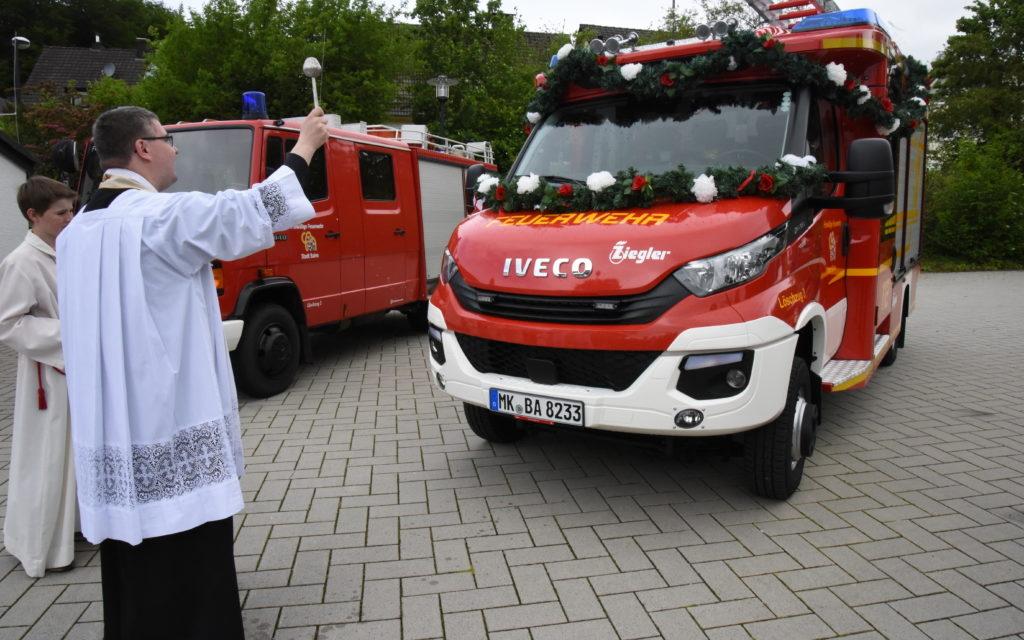 Große Freude bei Eisborner Feuerwehr über neues Löschfahrzeug