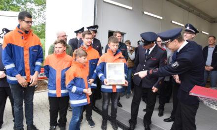 IMPRESSIONEN: Golddorf Mellen freut sich über modernstes Feuerwehrgerätehaus – TEIL 2