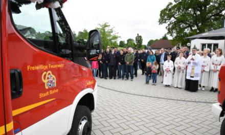 IMPRESSIONEN: Neues Feuerwehr-Fahrzeug für Eisborn – TEIL 2