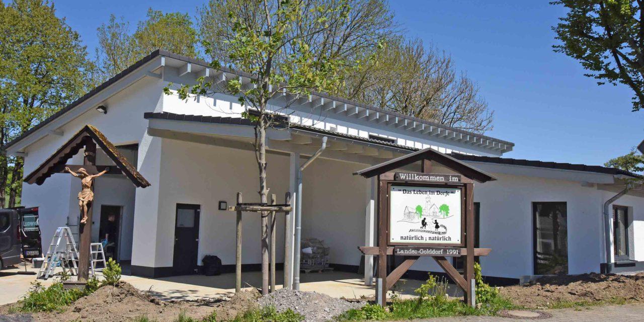 Einweihung Feuerwehrgerätehaus Mellen mit 6 Monaten Verspätung