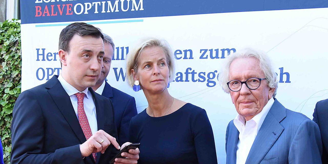 Wirtschaftsgespräch: Bosbach urplötzlich erkrankt – CDU-Generalsekretär Ziemiak hilft Schlossherrin aus der Patsche