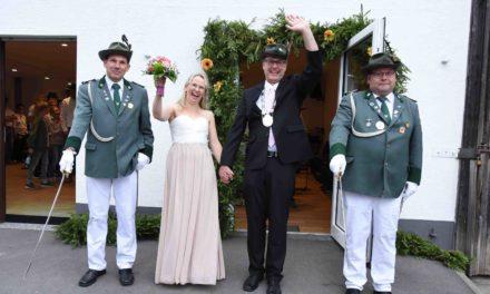 Majestäten Christian und Helga König begeistern die Beckumer