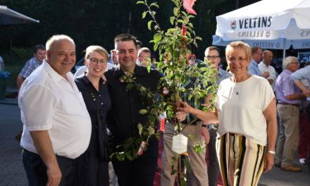 IMPRESSIONEN: Große Gratulantenschar zum 60. Geburtstag des Goldbäckers
