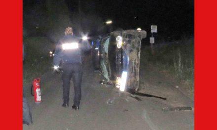Drei junge Leute bei Unfall schwer verletzt – Illegales Fahrzeugrennen?