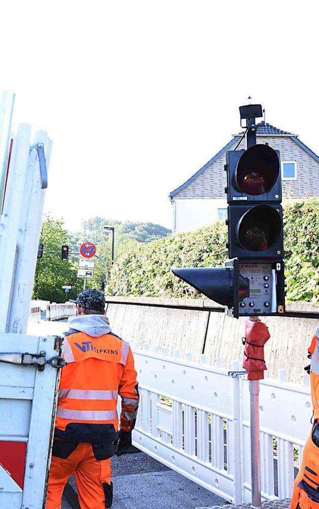 Felssicherungsarbeiten: Ab Dienstag halbseitige Sperrung der B 236