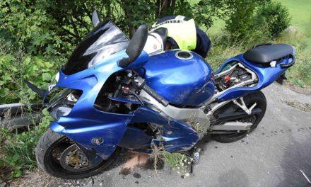 Biker-Unfall in Beckum: Blockierende Räder Ursache für Sturz