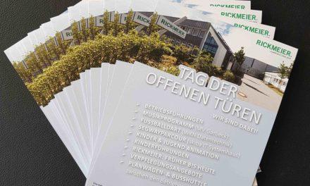 Samstag Tag der offenen Türen im Gewerbegebiet Garbeck – Firma Rickmeier macht auch mit