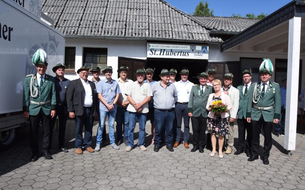 FOTOGALERIE: Schützenbruderschaft Mellen ehrt Jubilare