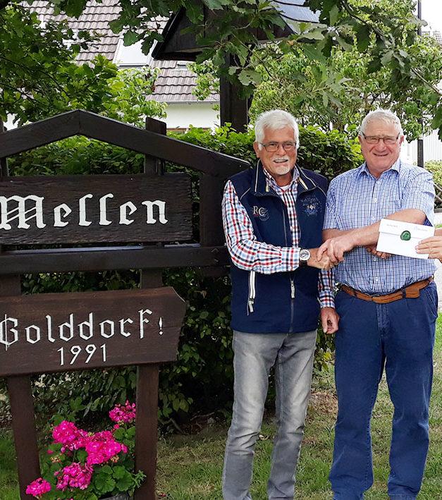 Gerd Schneider in Bürgerbus-Ruhestand verabschiedet