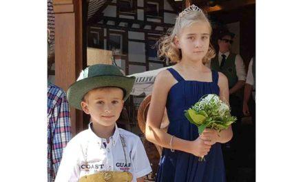 Schützenbrüder laden zum Erntedankfest und Kinder-Königsschießen