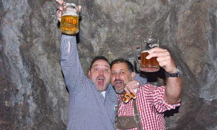 Oktoberfest in der Höhle: Tolle Stimmung – aber viel zu wenig Besucher