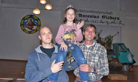 Königin Emilia regiert Eisborner Nachwuchs