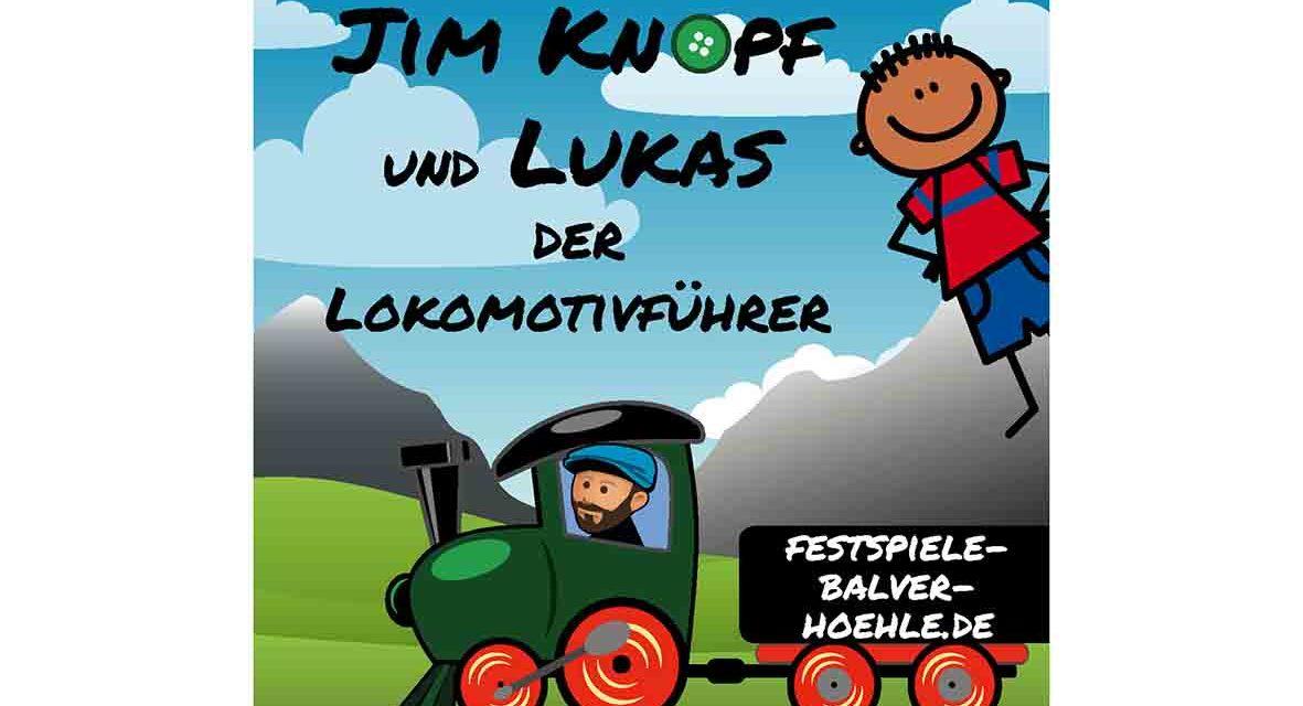 """Jim Knopf und Lukas der Lokomotivführer suchen """"Mitreisende"""""""