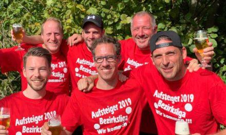 Großer Jubel beim TCH – Aufstieg in Bezirksliga geschafft