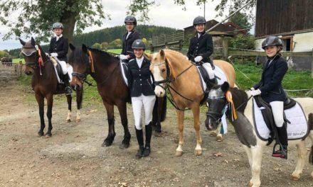 Nachwuchs des Reitervereins Balve im Goldrausch
