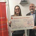 Neuenrader Engelmann gewinnt 5.000 Euro bei Sparkassen-Sparlotterie