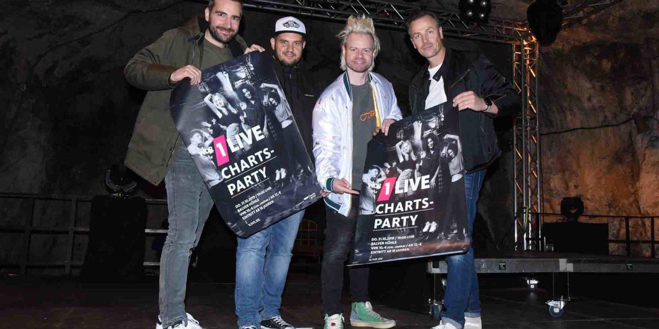 EILMELDUNG: 1LIVE Charts-Party in Balver Höhle ist ausverkauft