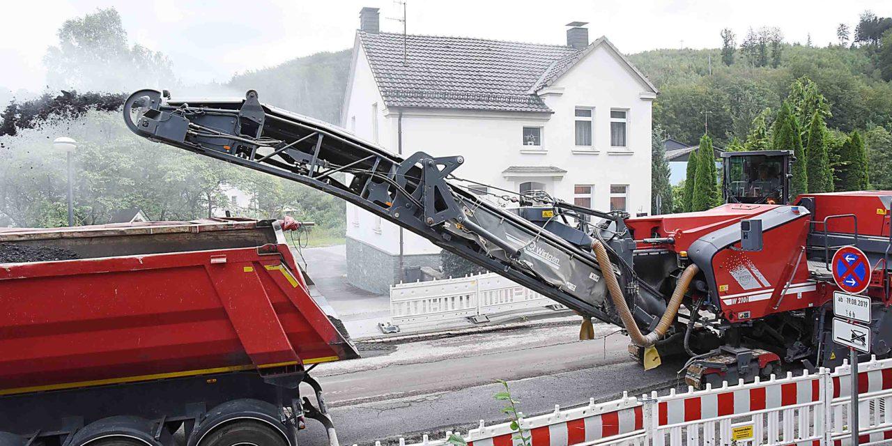 B 233: Vollsperrung in Kalthof
