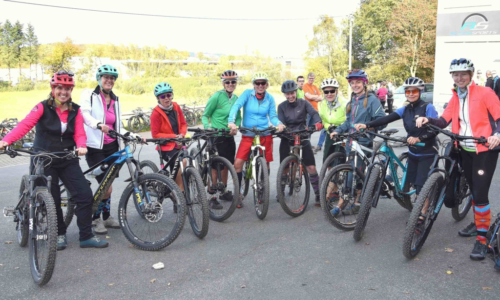 Tourentag der Bikeschule Sauerland ein großer Erfolg