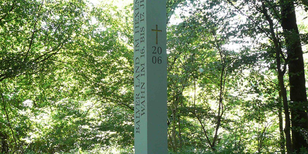 HEXENSTELE: Gedenken an 300 hingerichtete Menschen aus Balver Land