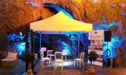 Jetzt gehts los: Heute Hochzeits- und Eventmesse in der Balver Höhle