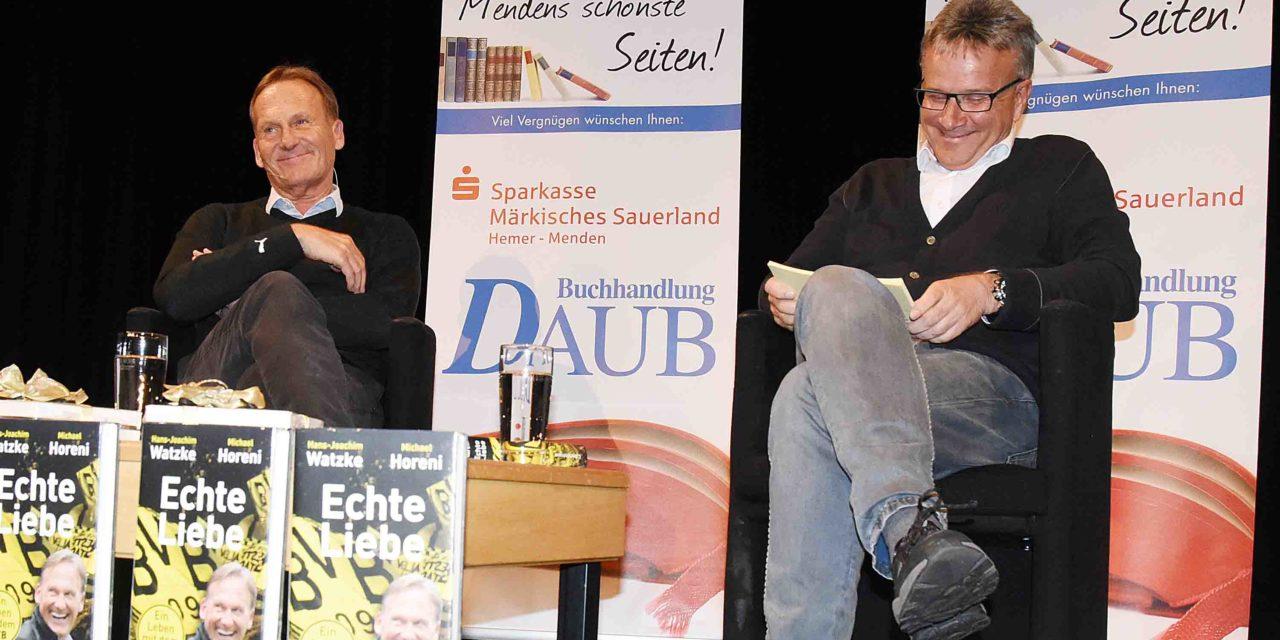 """Watzke und Hennecke beleuchten """"Echte Liebe – Ein Leben mit dem BVB"""" mit großer Empathie"""