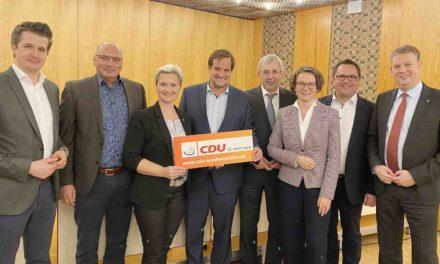 Klaus Kaiser steht weiter an der Spitze der CDU Südwestfalen – Voge mit 96 Prozent wieder gewählt