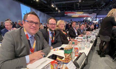 Kreis-CDUler stellen Generalsekretär Ziemiak auf Bundesparteitag sehr gutes Zeugnis aus