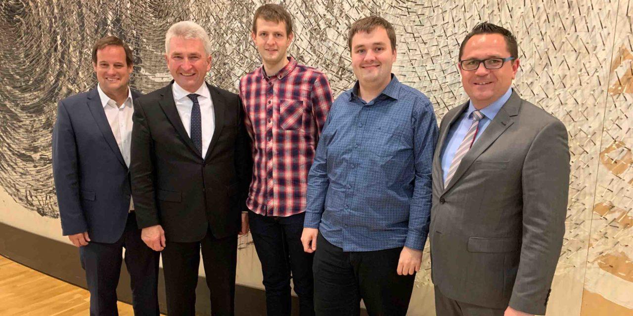 """MdL Voge lobt Vorzeige- und Leuchtturmprojekt für NRW – Weltfinale der """"World Robot Olmpiad"""" in Dortmund"""