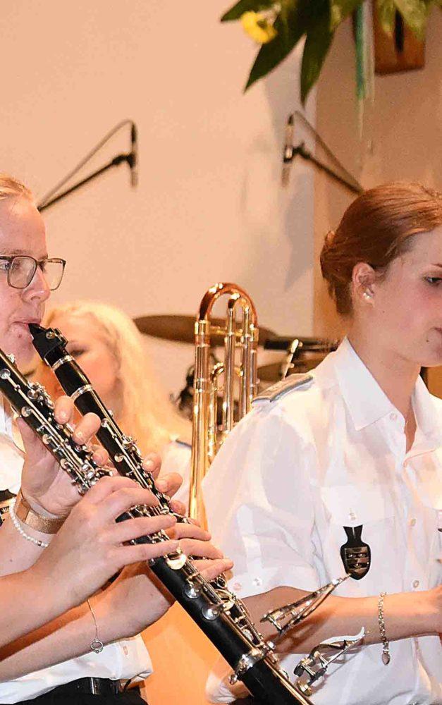 Musikverein Garbeck spielt am Sonntagmorgen in der Pfarrkirche Hl. Drei Könige