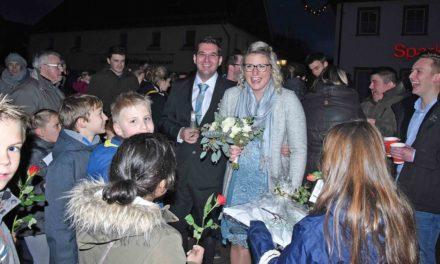 Herzlichen Glückwunsch, Alexander und Katharina Drees
