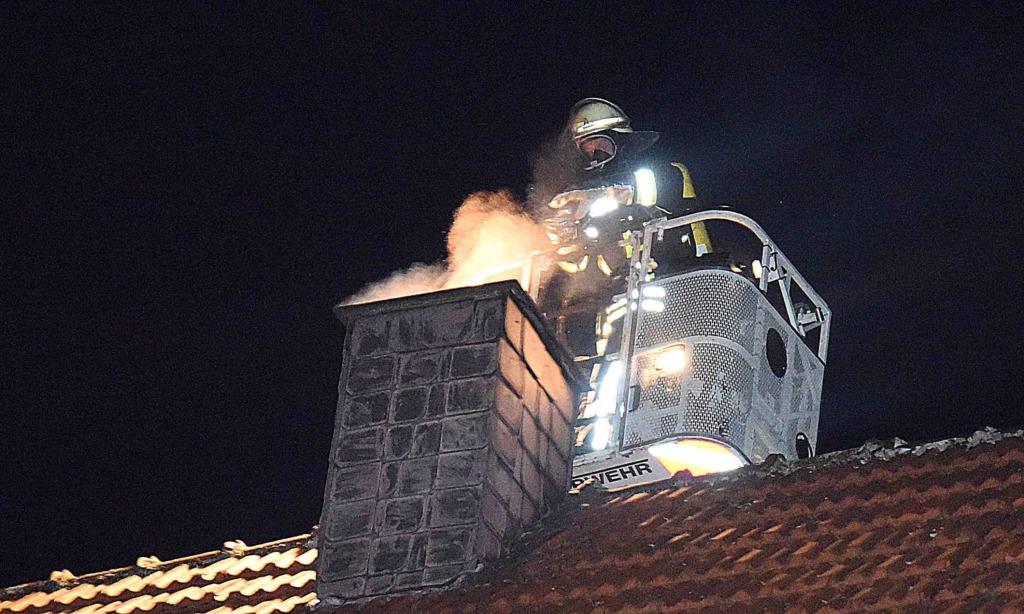 FOTOGALERIE: Vorbildlicher Feuerwehreinsatz in Garbeck