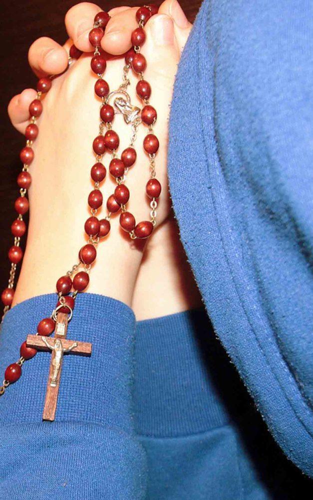 Kein Rosenkranzgebet und keine Hl. Messe