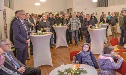 Schöner Neujahrsempfang in der Christusgemeinde dient auch der Ökumene