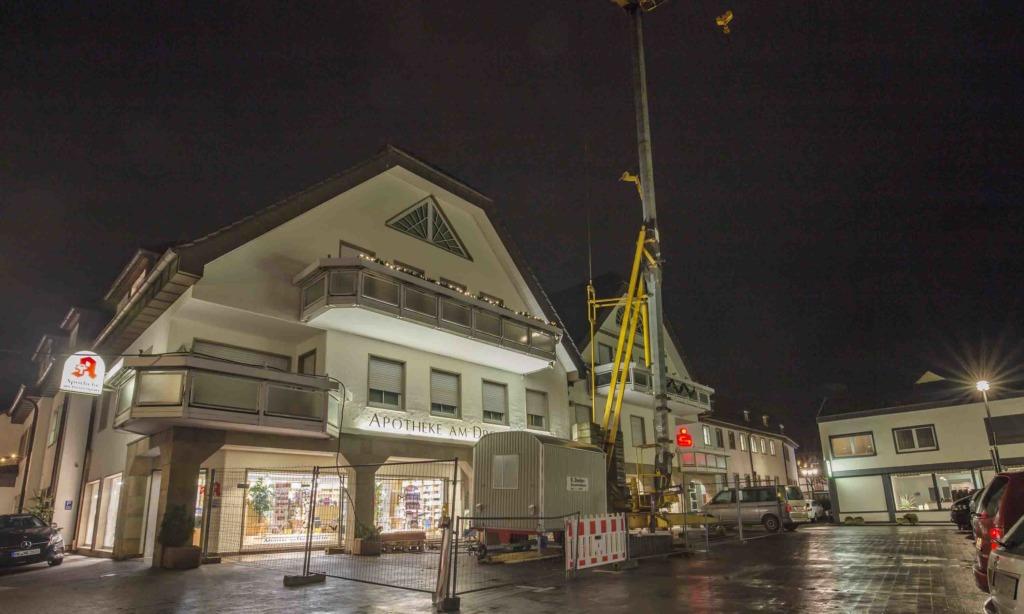 """Weitere große Baumaßnahme auf dem """"Drostenplatz"""""""