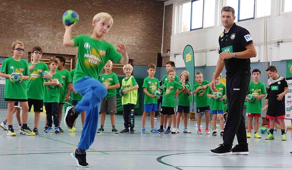 Kommen Handball-Stars in Balver und Neuenrader Grundschule