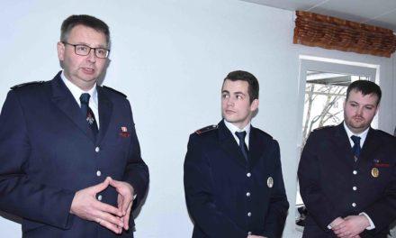 Feuerwehr-Löschgruppe Stadtmitte wird seit heute von Matthias Ickler geführt