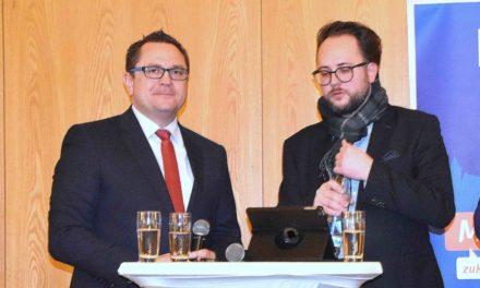 CDU-Jahresempfang: Voge betreibt Werbung in eigener Sache