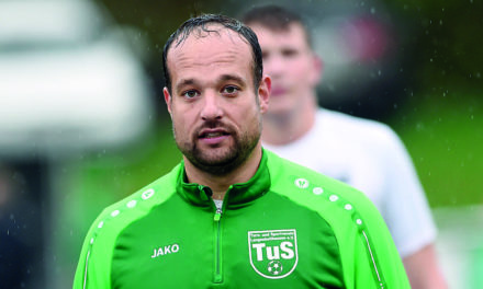 "HEUTE ABEND: ""Neu-Trainer"" Thomas Cordes will mit TuS II ins DFB-Kreispokal-Finale stürmen"