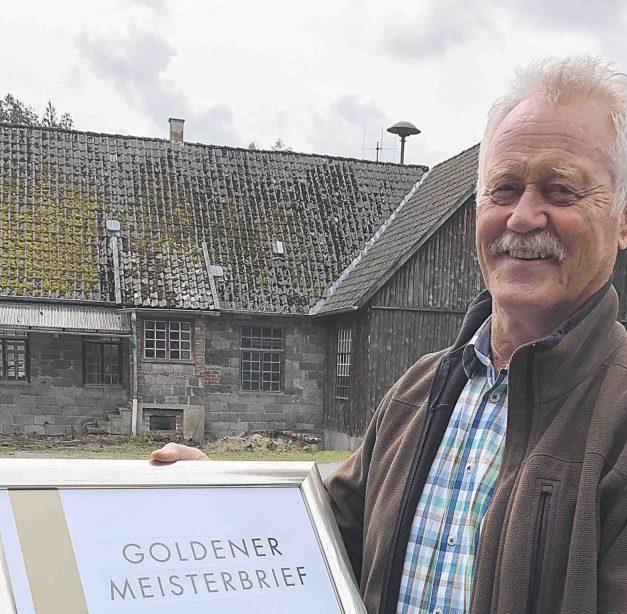 """Vinzenz Schulte: Auch mit """"75"""" will er noch hoch hinaus"""