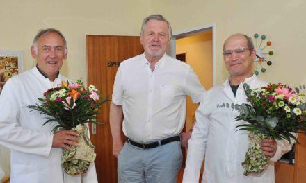 FWG gratuliert Dr. Gotthardt zur Erweiterung seines Praxis-Teams